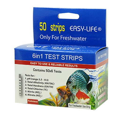EasyLife 6in1 Test Strips (50 x 5)
